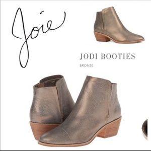 Joie Jodi Metallic Booties